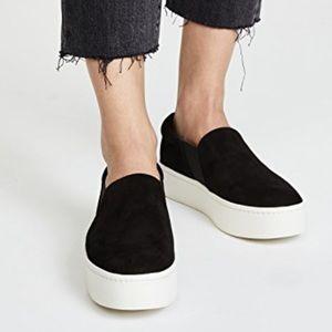 [Vince] Black Warren Sneakers EUC